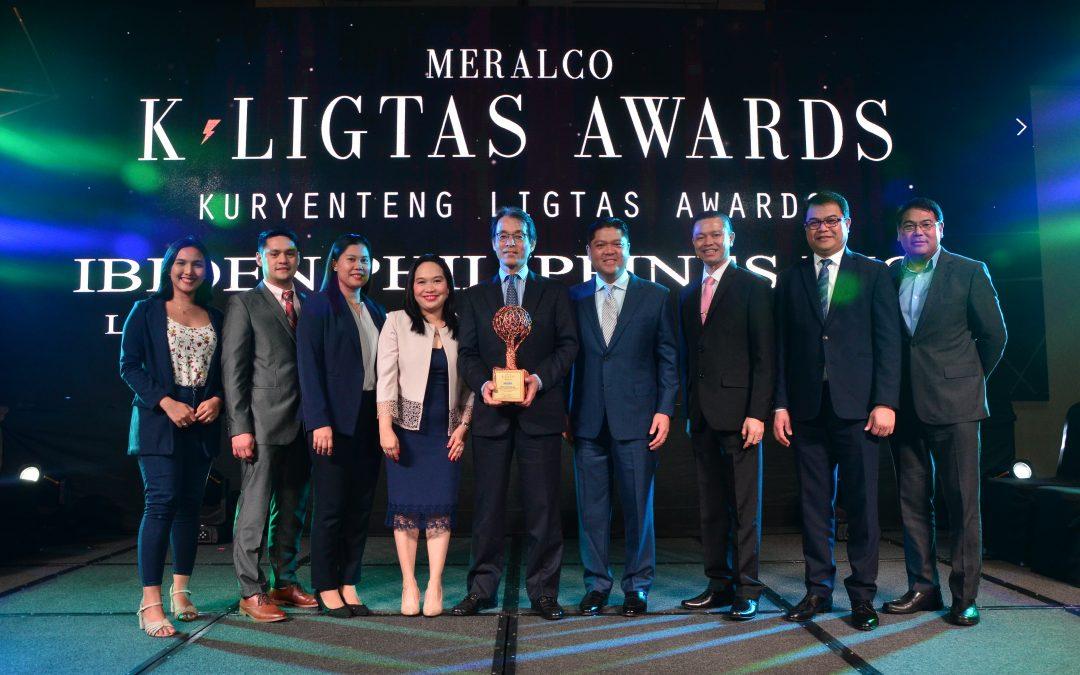IBIDEN PHILIPPINES, INC., Large Industrial Company Awardee